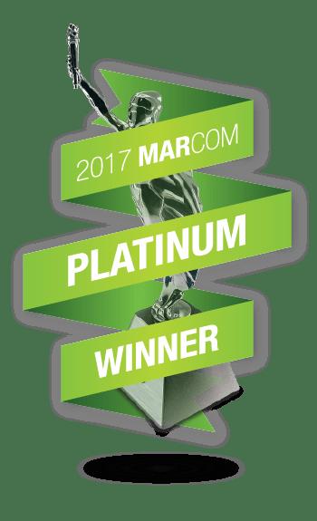 2017 MarCom Platinum Winner