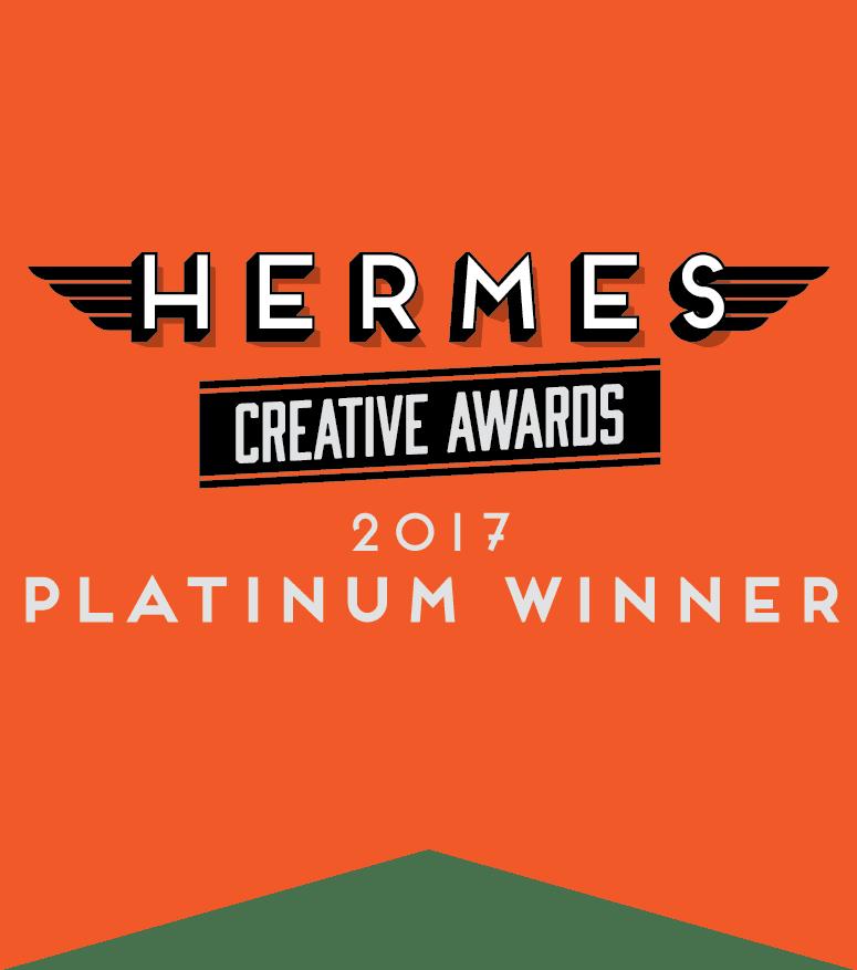 Hermes Creative Awards 2017 Platinum Winner