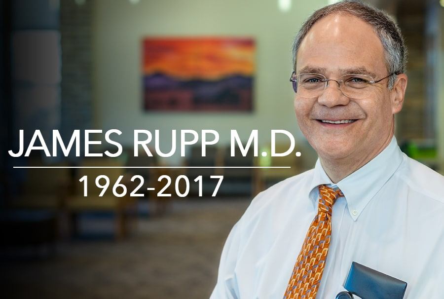 James Rupp, MD, 1962 to 2017