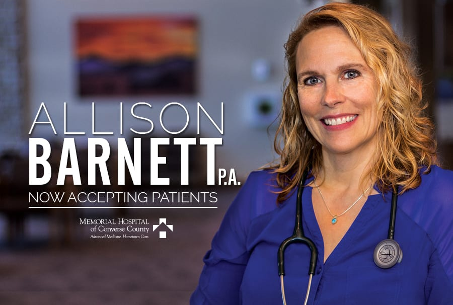 Allison Barnett, PA, now accepting patients