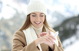 Tips for very dry skin in the winter from Dr. Owen Vincent at Crossing Rivers Health Clinic