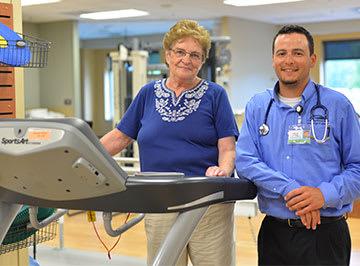 Pulmonary rehab at Crossing Rivers Health in Prairie du Chien Wisconsin