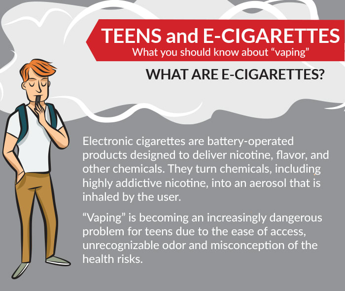 What are e-cigarettes from Crossing Rivers Health