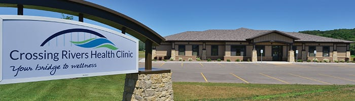 Crossing Rivers Health Clinic in Prairie du Chien Wisconsin