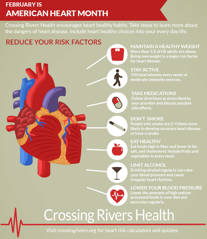 American Heart Month and ways to reduce risk factors of high blood pressure