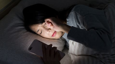 How technology affects sleep