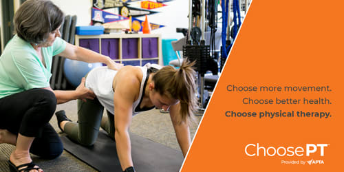Choose PT Physical Therapy Month