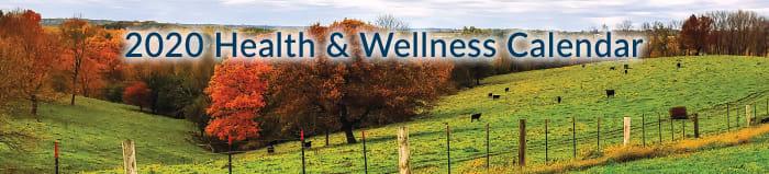 Crossing Rivers Health Health and Wellness Calendar 2020