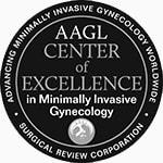 AAGL Center of Excellence award logo