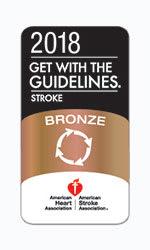 American Heart Association Stoke award logo