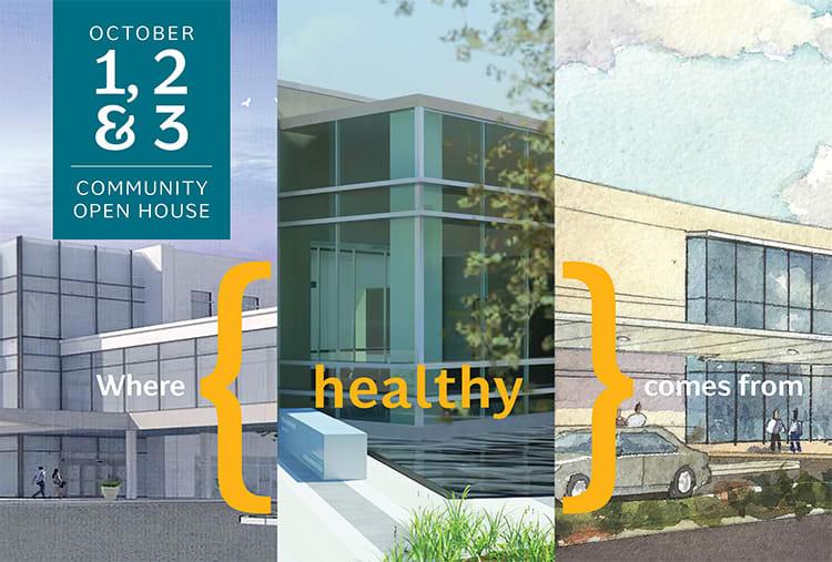 Community Open House October 1-3, 2019