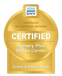 DNV Healthcare Primary Plus Stoke Center Certified