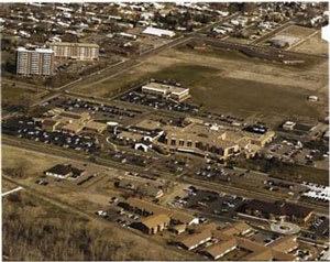 1997 hospital aerial shot