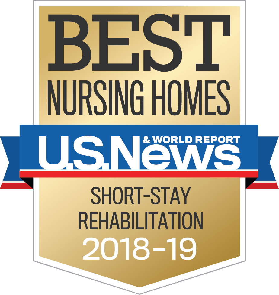 US NEWS SKILLED NURSING Badge Nursinghomes Shortstay Year 2018