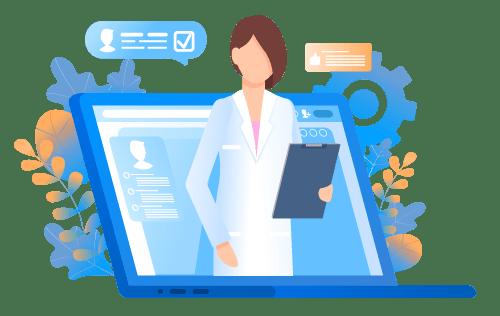 Female provider - telehealth
