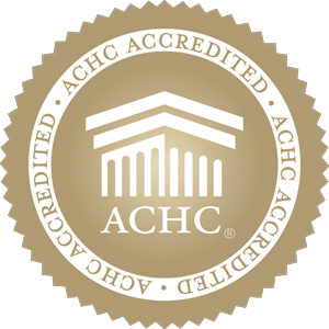 Iredell Home Health is accredited by the Accreditation Commission for Health Care (ACHC)