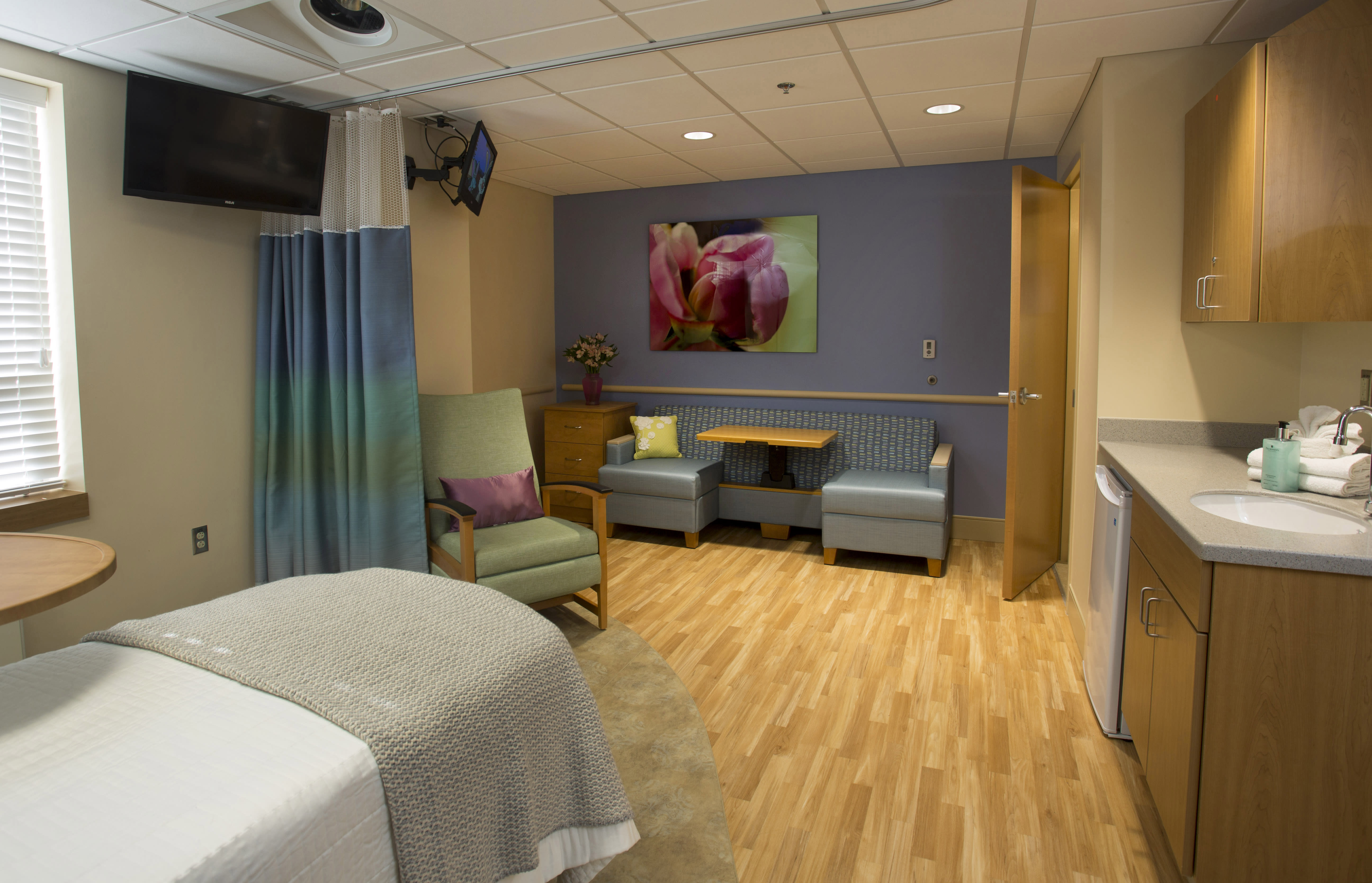 Birthing Suite at The Family Birth Center