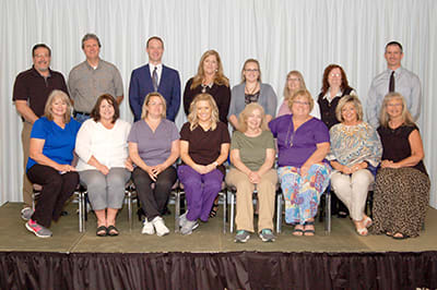 Lake Regional recognized a total of 27 employees for 15 years of service.