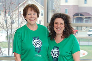 For the third year in a row, Jane Johnson and Rosete Ward are training together for Lake Regional's Annual Fun Run/Walk, taking place Saturday, May 5 at the hospital.