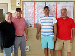 The 41st Annual HK's Hospital Benefit Golf Tournament, benefiting Lake Regional Health System, was held June 9 at The Cove Golf Course. Tim Scott, Martin Krulatz, Troy Templeton and Alan Parker won first place, A-flight, in the morning round.