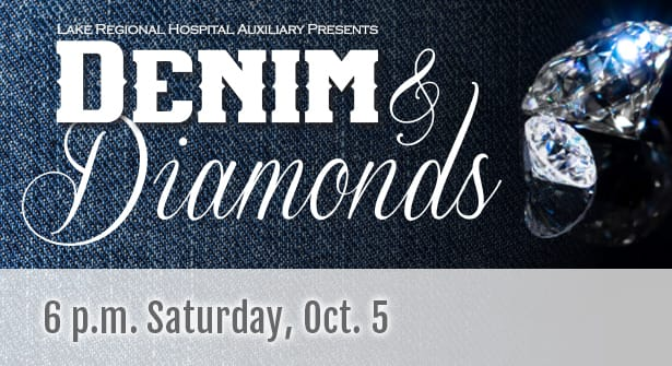 Get Your Ticket for Denim & Diamonds Ball, Oct  5 | Lake