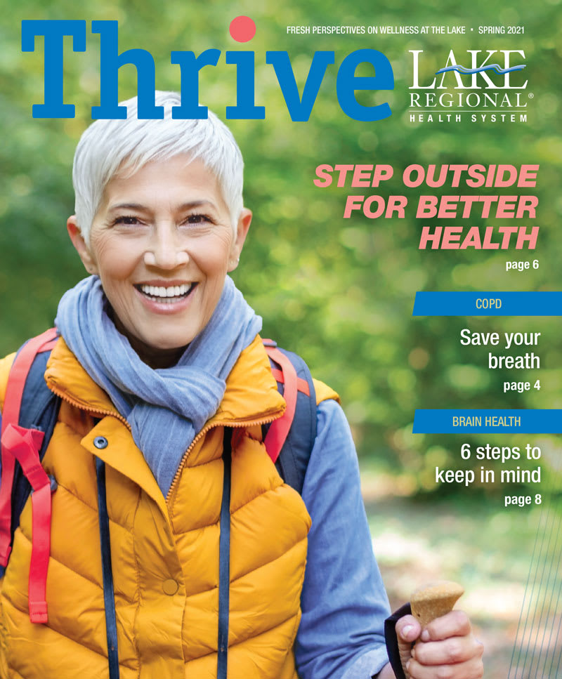 Thrive cover Spring 2021