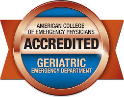 American College of Emergency Physicians accredited