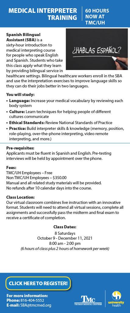 Medical Interpreter Training