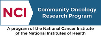 National Cancer Institute Community Oncology Research Program Badge
