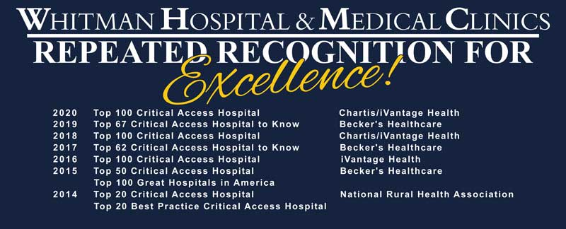 WHMC repeated recognition for excellence