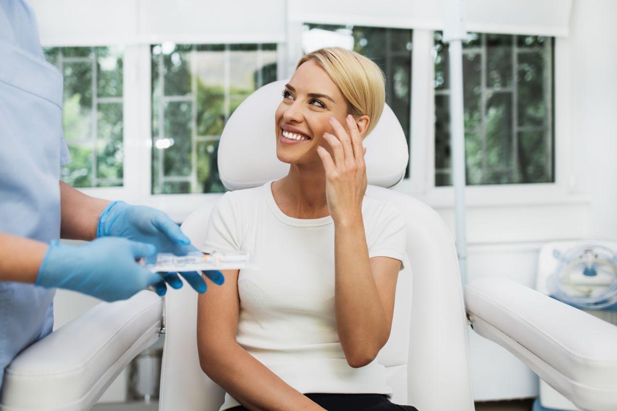 Woman In Cosmetic Clinic
