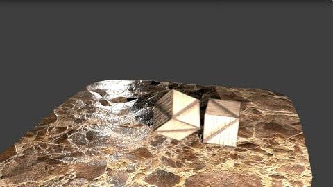 老外用Blender做的物理碎裂效果测试视频[转载]