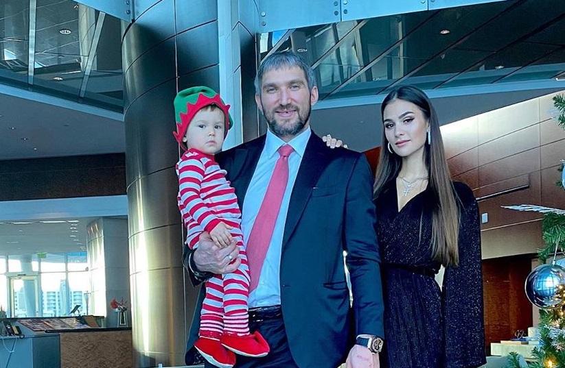 Шубская и Овечкин стали родителями во второй раз
