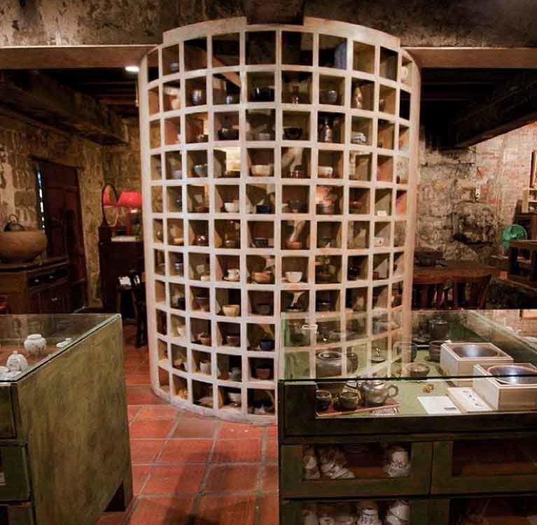 Интерьер чайного дома