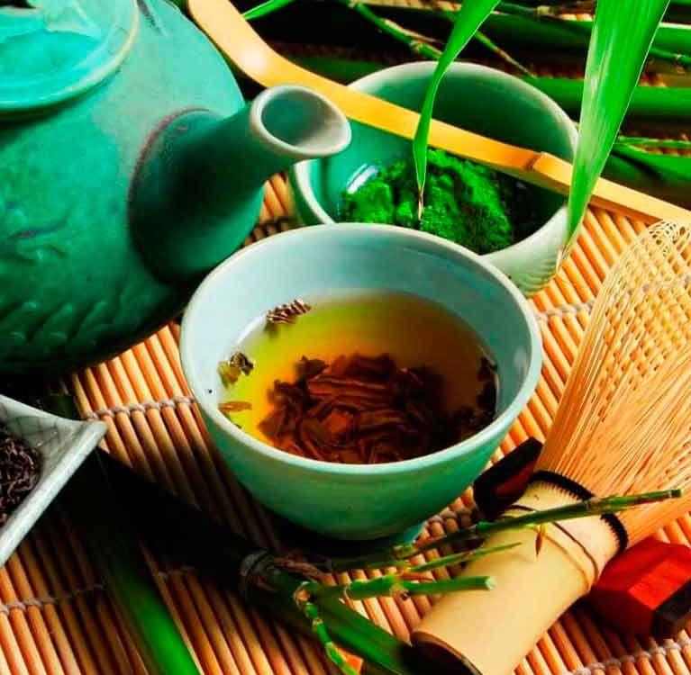 механизм лечебного действия зеленого чая