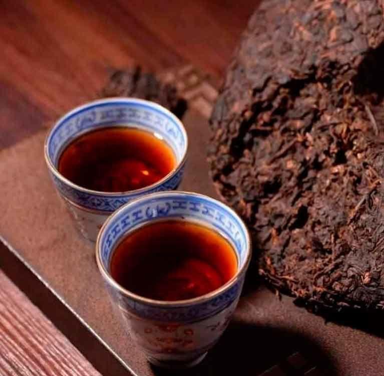 Чай с выдержкой