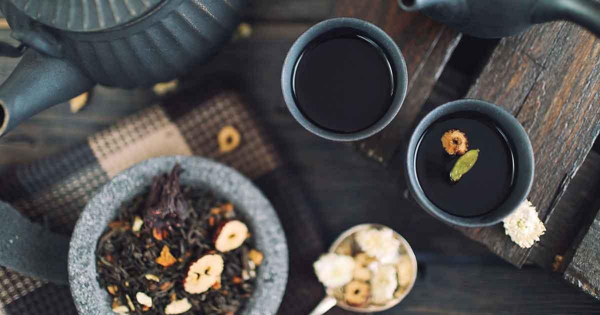 Минералы в чае