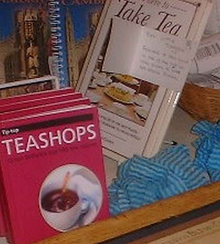 The little tea room. Кембридж