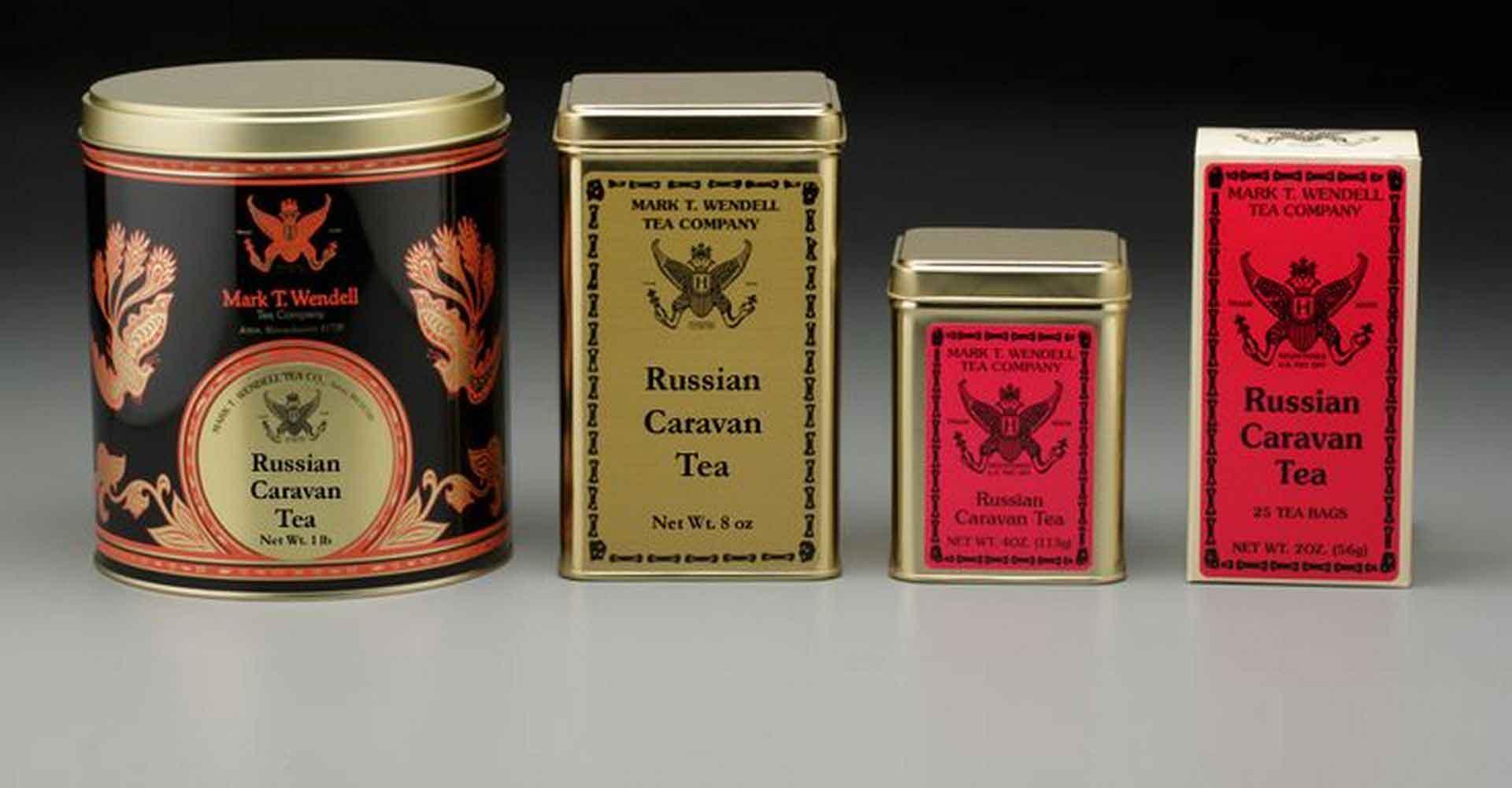 русский караван чай