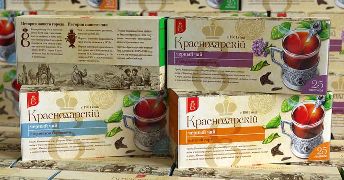 Объединение Краснодарский чай» выводит на рынок новую линейку чая