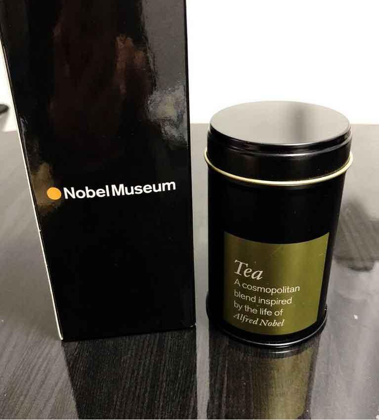 Чай для нобелевских лауреатов