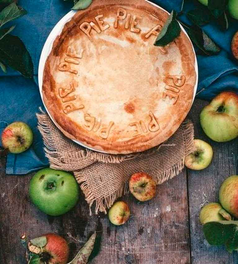 """Яблочный пирог """"Нежный"""""""