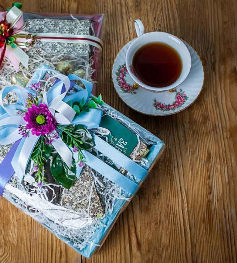 10 подарков чая