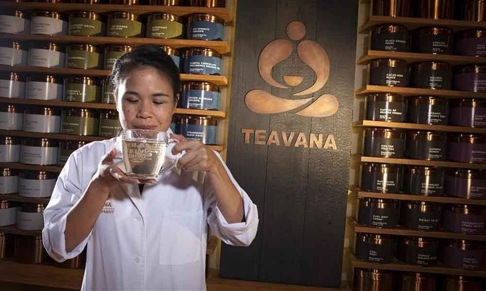 Чайная Teavana