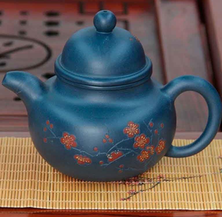Подготовка нового чайника из исинской глины