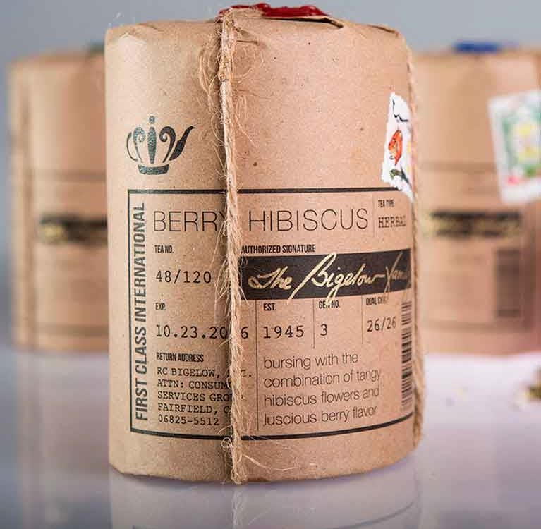 """Чай Bigelow зарабатывает аттестацию как """" корпорация B'"""