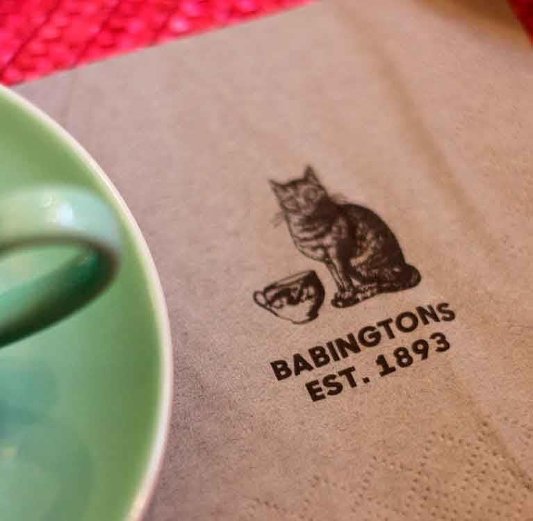 Чай Babingtons доступен по всему миру