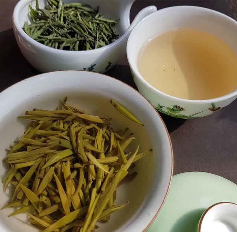 Желтый чай - редкий и необычный чай
