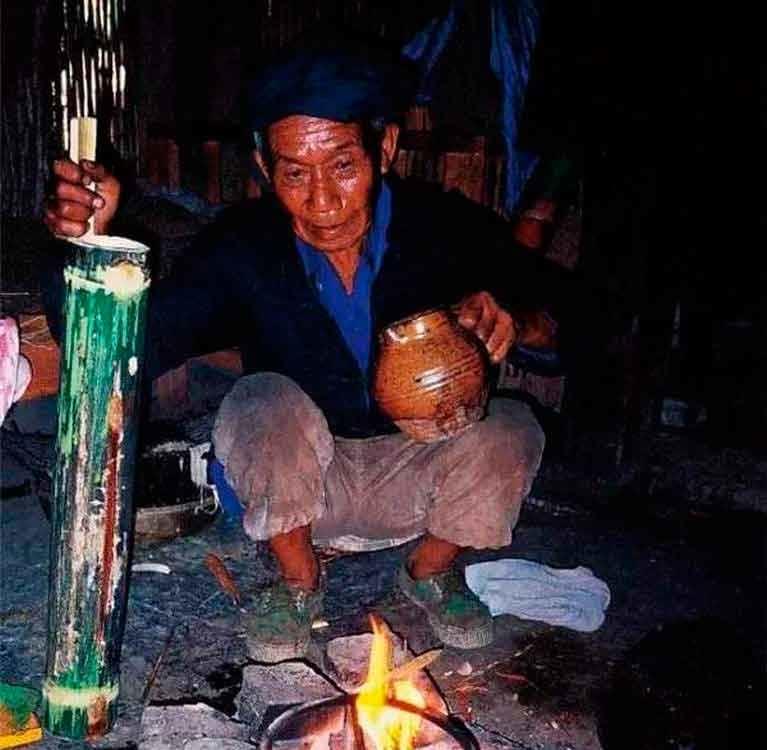 Громовой чай народа лису