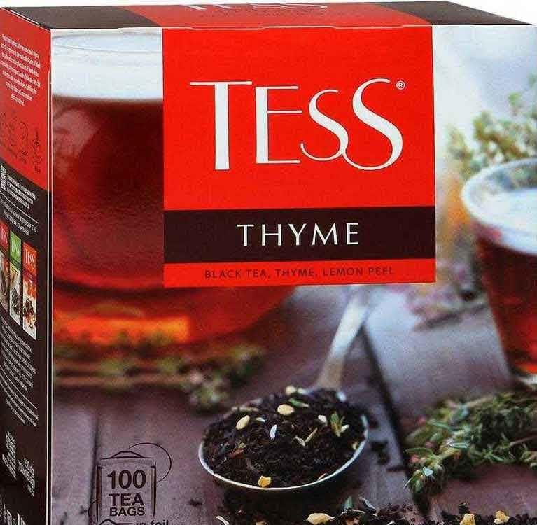 Чай TESS упаковка 100 г